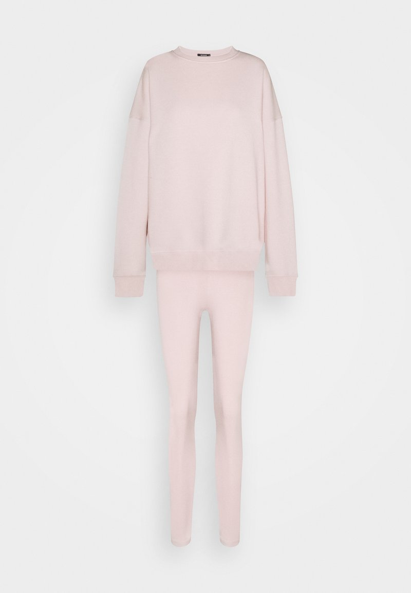 Missguided - COORD OVERSIZED SET - Tracksuit - pink