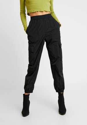 MAX TROUSERS - Spodnie treningowe - black