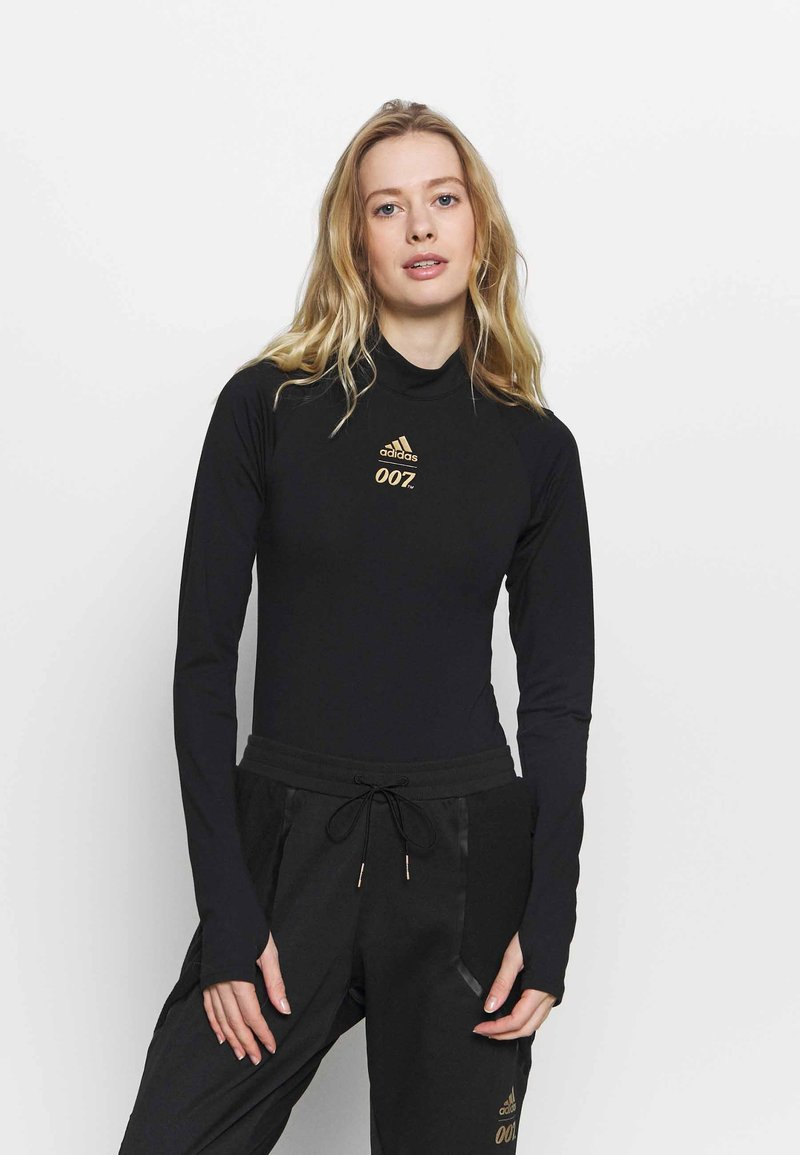 adidas Performance - SPORTS LEOTARD - Dres - black