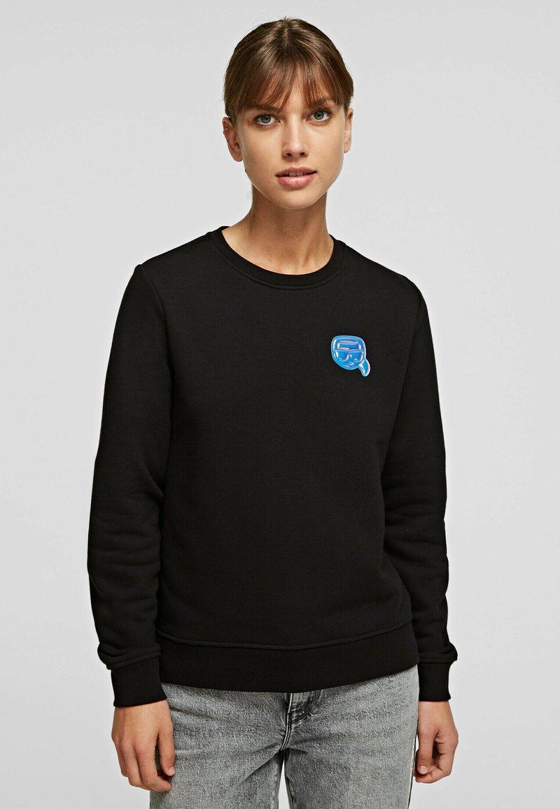 KARL LAGERFELD - Sweatshirt - black