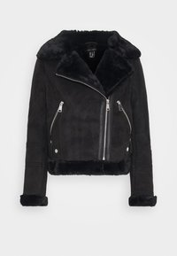 New Look - ANNA AVIATOR - Faux leather jacket - black - 4