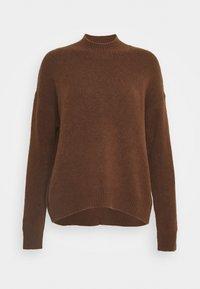 Marc O'Polo DENIM - LONG SLEEVE - Sweter - fantastic brown - 0