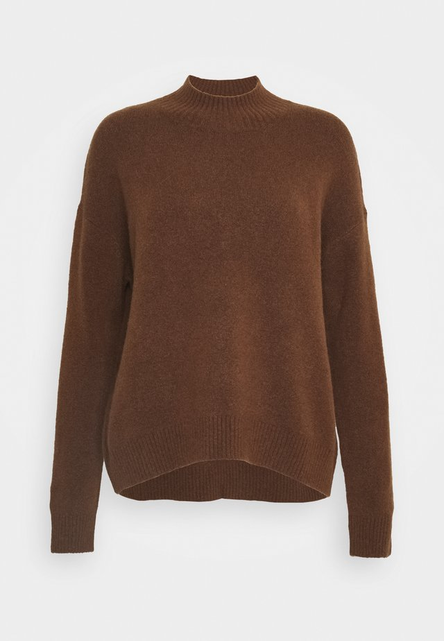 LONG SLEEVE - Trui - fantastic brown