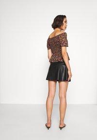 ONLY - ONLVIBE SKATER SKIRT - A-line skirt - black - 2