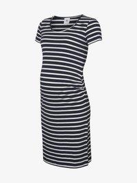 MAMALICIOUS - Sukienka z dżerseju - navy blazer - 4