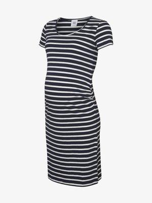 Žerzejové šaty - navy blazer