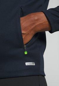 JAKO - CHAMP - Training jacket - marine/blue/neongelb - 5