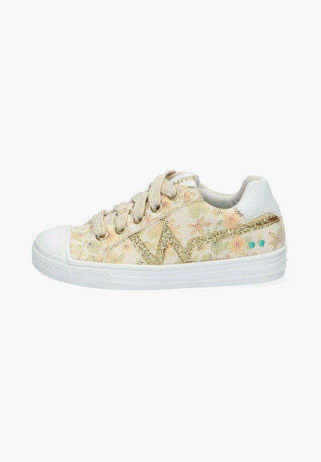 ANIMAL FRIENDLY - Sneakers laag - white
