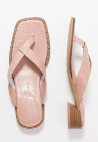 Topshop - VERSE TOE POST - Sandály s odděleným palcem - blush - 3