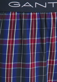 GANT - BOX SHORTS TARTAN CHECK 2 PACK - Boxer shorts - port red - 4
