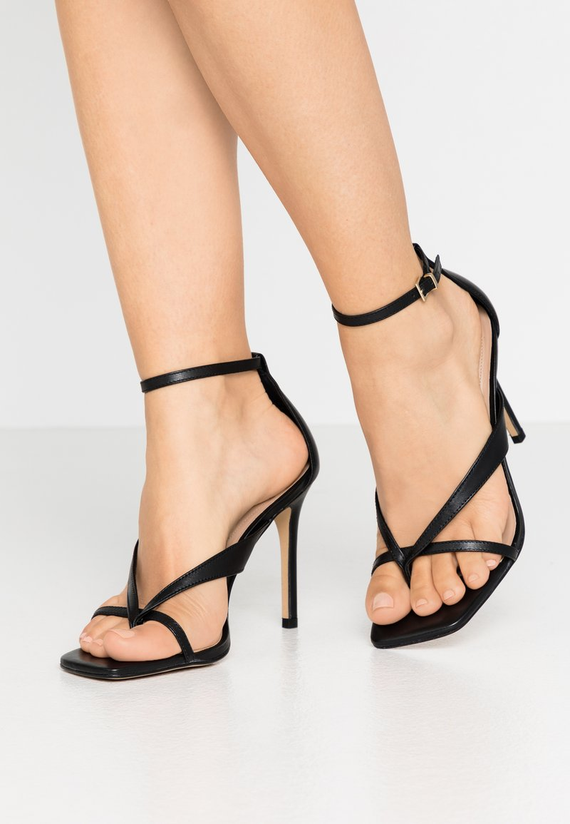 ALDO - LEXIE - High heeled sandals - black