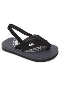 Quiksilver - MOLOKAI LAYBACK  - Pool shoes - grey/green/grey - 1