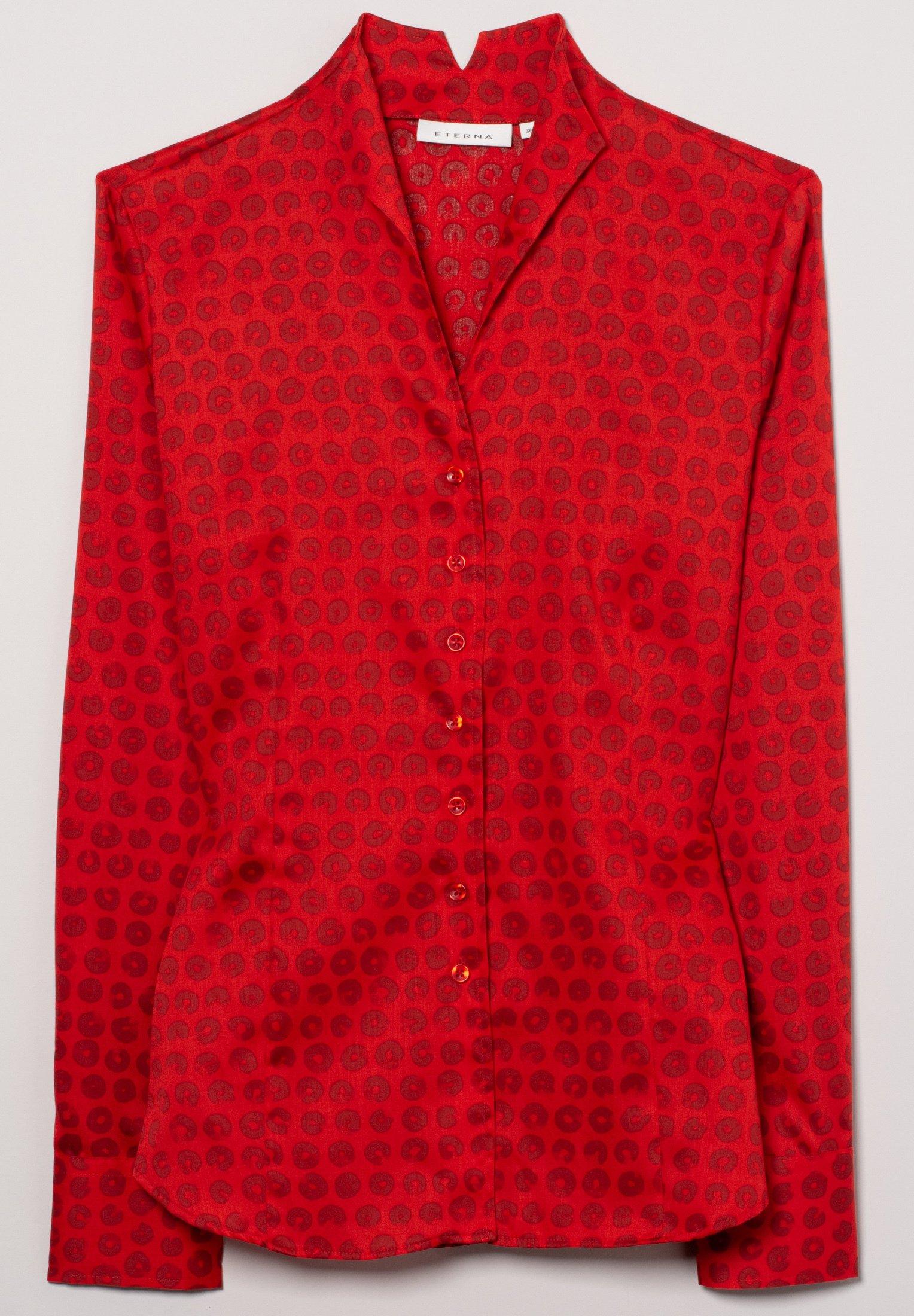 Eterna MODERN FIT - Overhemdblouse - rot - Dameskleding Oprecht