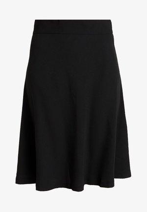 STELLY - A-line skirt - black