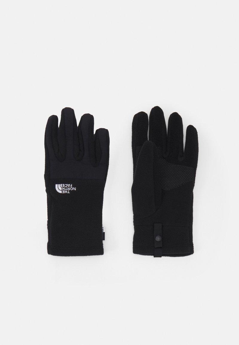 The North Face - DENALI ETIP GLOVE UNISEX - Gloves - black