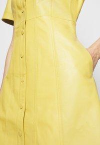 Proenza Schouler White Label - DRESS - Paitamekko - citron - 6