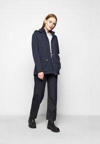 Barbour - CLYDE JACKET - Short coat - navy - 1