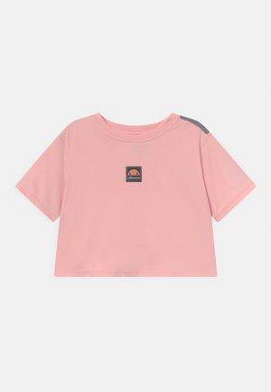 ASALI CROPPED UNISEX - T-shirt med print - light pink