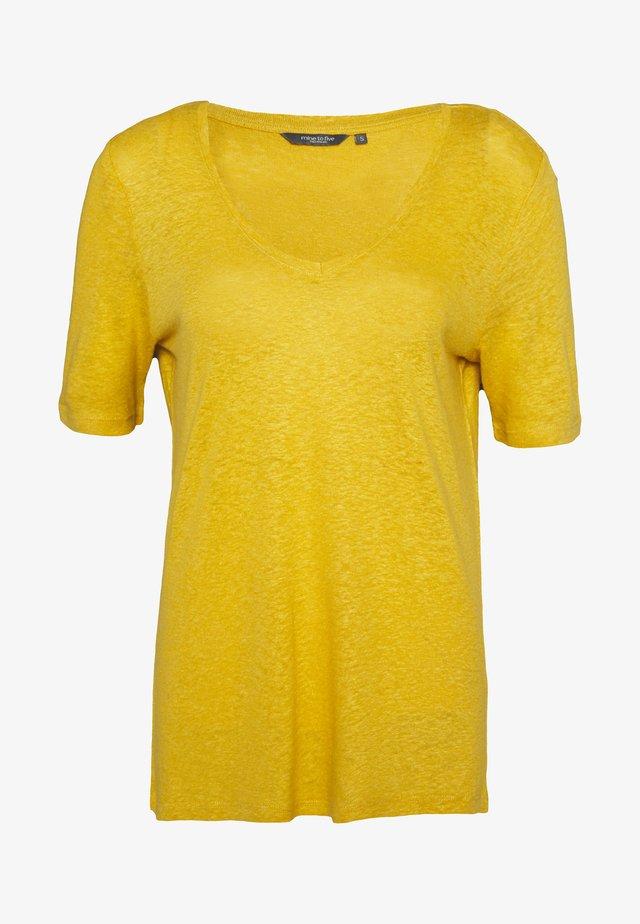 T-shirt basic - golden corn
