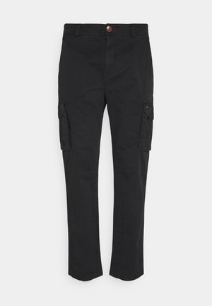 PANTS - Cargobukser - black