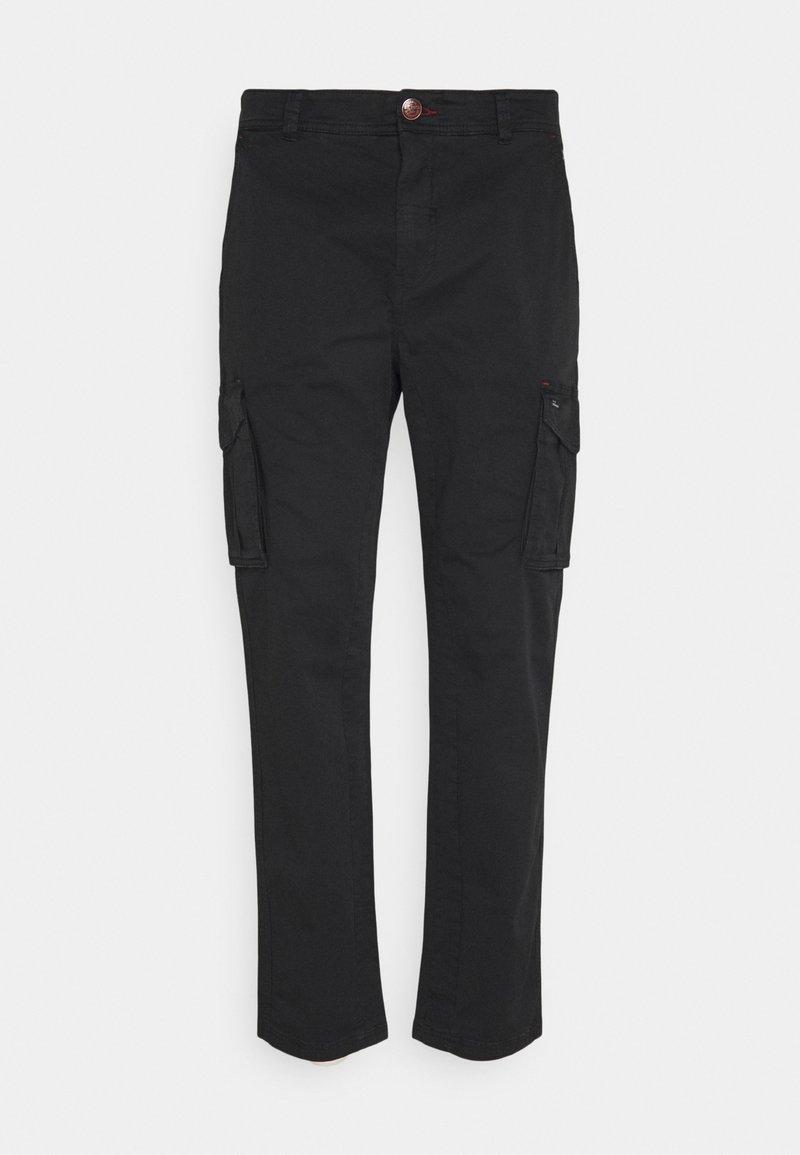 Blend - PANTS - Cargo trousers - black