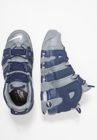Nike Sportswear - AIR MORE UPTEMPO 96 - High-top trainers - cool grey/white/midnight navy - 3
