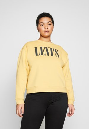 GRAPHIC MADISON CREW - Sweatshirts - ochre