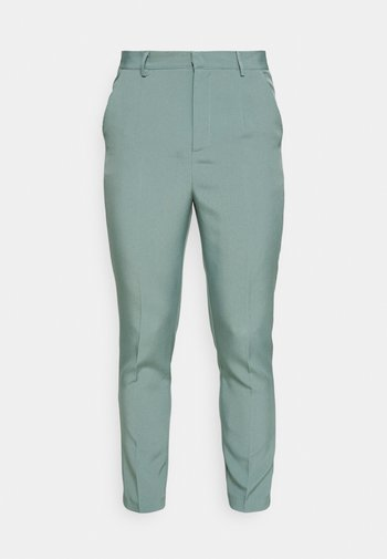 AFTERMATH TAPERED SUIT TROUSER - Pantalones - light blue
