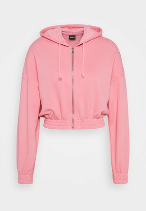 ABIGAIL ZIP JACKET - Collegetakki - sea pink
