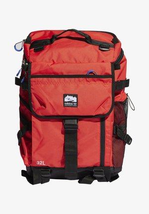 TOPLOADER ORIGINALS ADVENTURE BACKPACK - Reppu - bright red/black/white