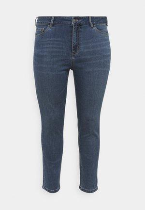 CROPPED  - Jeans Skinny Fit - dark blue denim