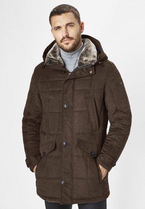 VIENNA - Winter coat - dark chocolate