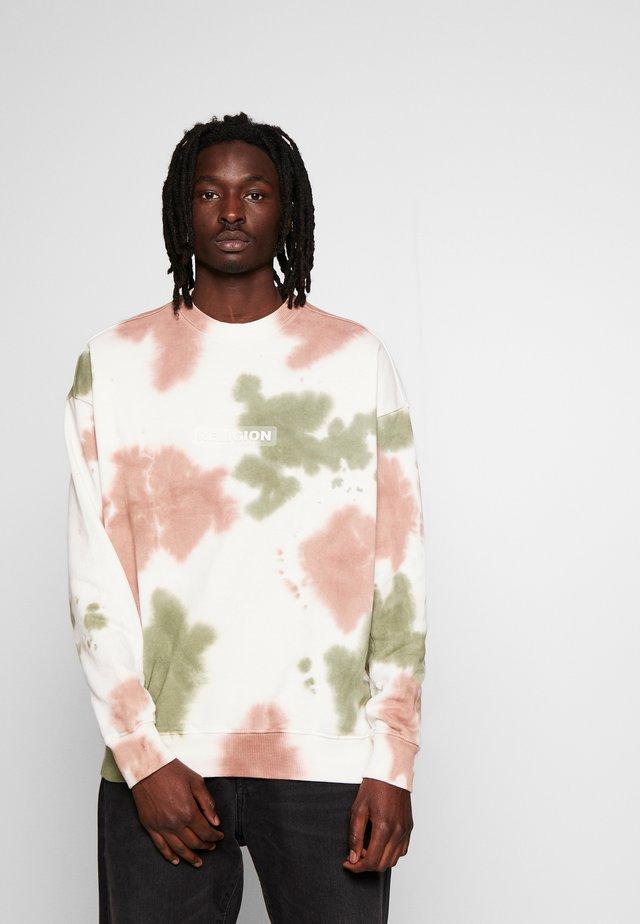 TOXIC  - Sweatshirt - tie dye