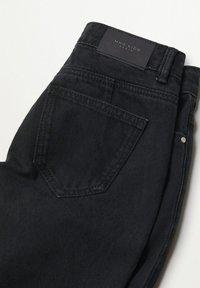 Mango - Flared jeans - sort denim - 5