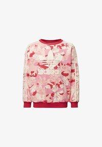 adidas Originals - CREW SWEATSHIRT - Sweatshirt - white - 0