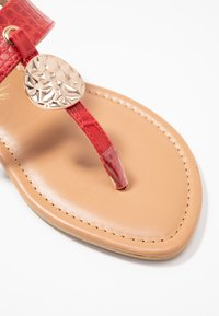 New Look Wide Fit - WIDE FIT HAMMER - tåsandaler - bright red - 2