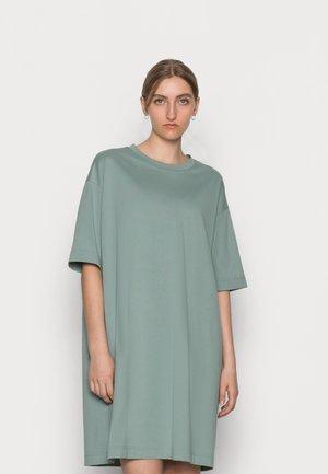 Jersey dress - sage