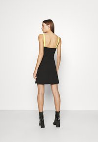 Calvin Klein Jeans - MILANO STRAPPY DRESS - Jersey dress - black - 2