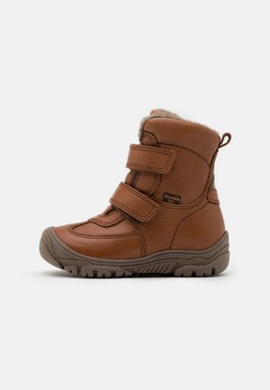 LINZ TEX MEDIUM FIT UNISEX - Winter boots - cognac