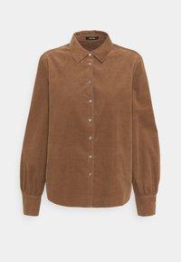 Opus - FERILLA - Button-down blouse - peanut - 0