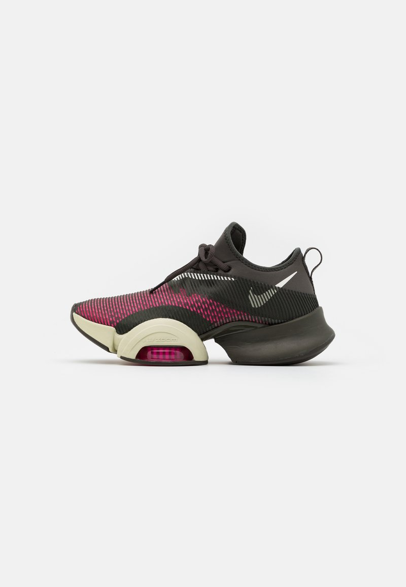 Nike Performance - AIR ZOOM SUPERREP UNISEX - Sports shoes - pink blast/sail/newsprint/veranda