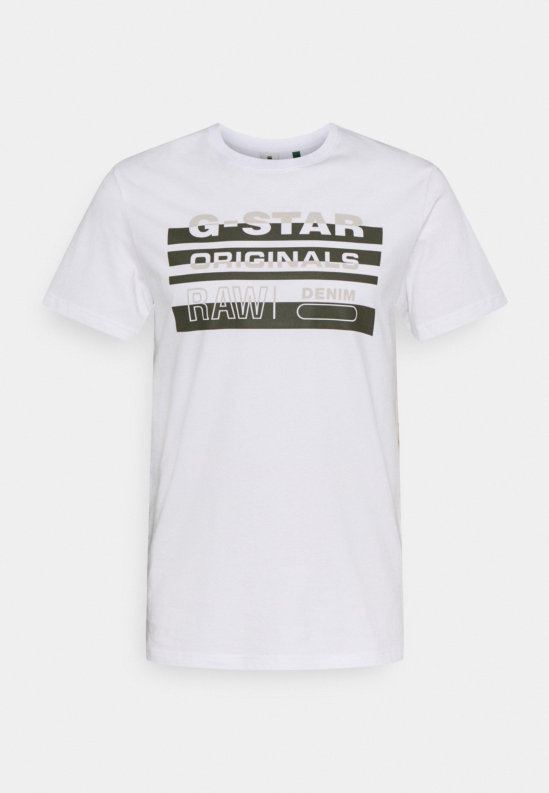 Men ORIGINALS STRIPE LOGO - Print T-shirt
