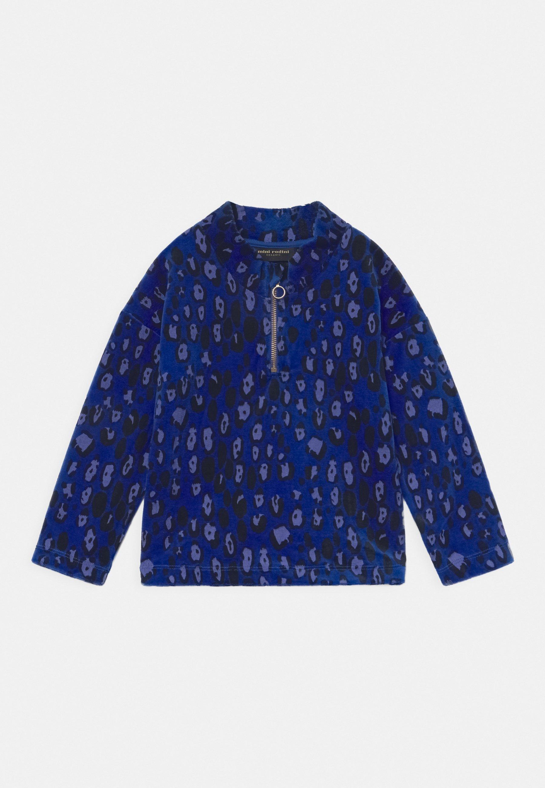 Kids LEOPARD HALFZIP UNISEX - Long sleeved top