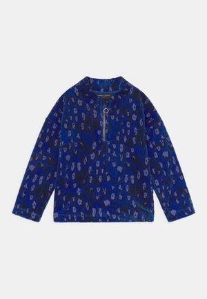 LEOPARD HALFZIP UNISEX - Felpa - blue