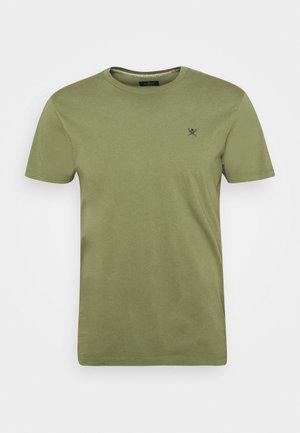 LOGO TEE - T-shirt basic - olivine