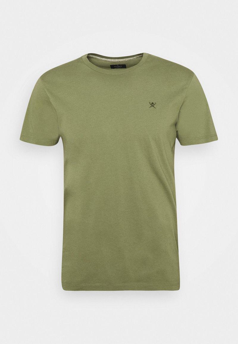 Hackett London - LOGO TEE - T-Shirt basic - olivine