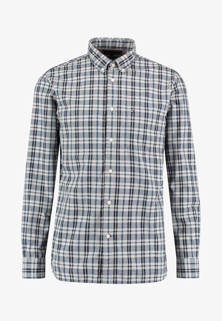 Tommy Hilfiger - HEATHER WINDOWPANE SHIRT - Shirt - blue