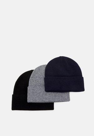 3 PACK UNISEX - Lue - black/grey/dark blue