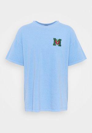 LOGO TEE - Camiseta estampada - washed blue