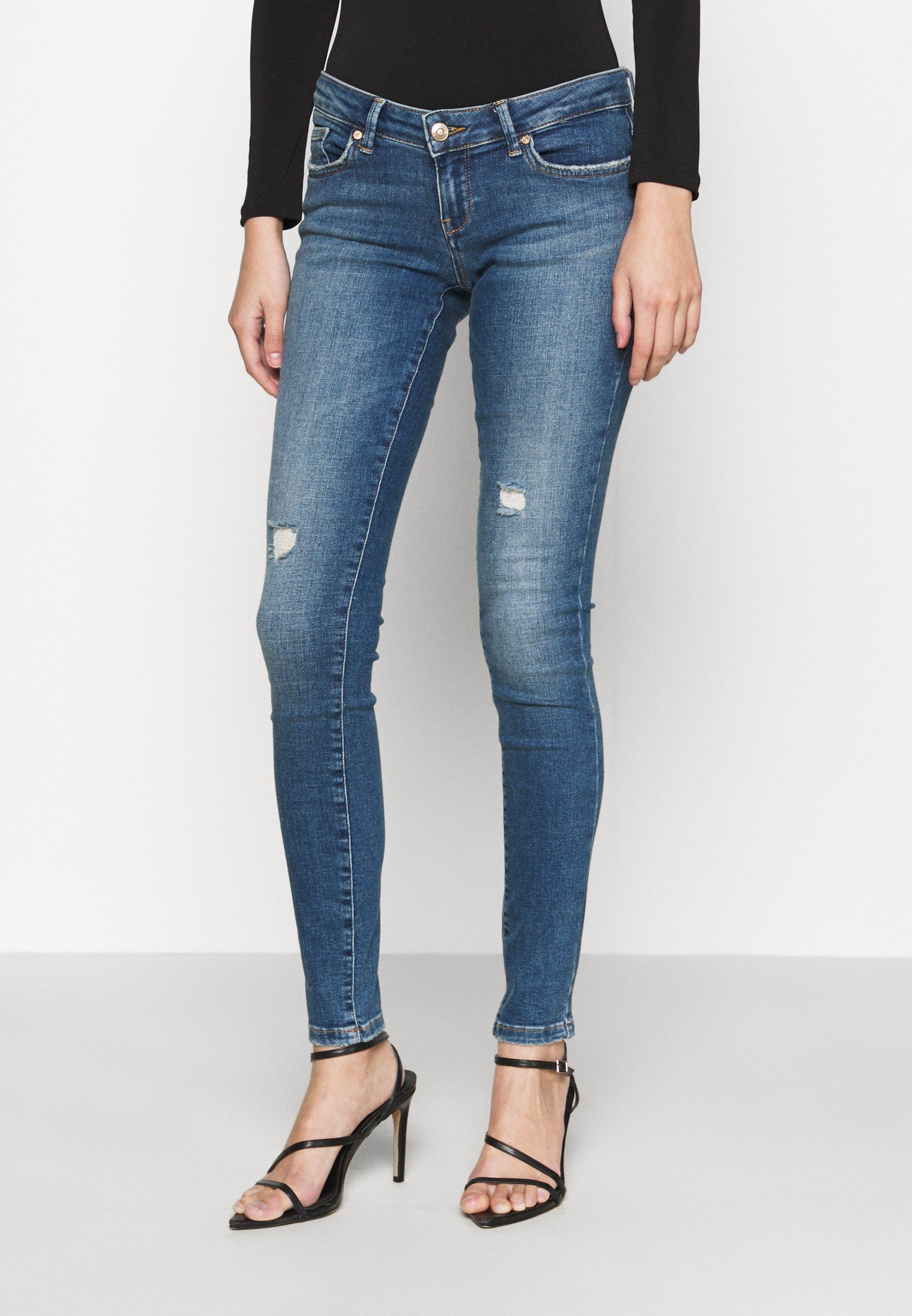 Damen ONLCORAL LIFE SUPERLOW - Jeans Skinny Fit